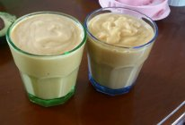 木瓜牛油果香蕉奶昔的做法