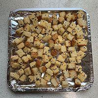 #花10分钟,做一道菜!#香烤吐司丁的做法图解6