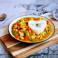 #晒出你的团圆大餐# 咖喱鸡丁土豆饭的做法图解19