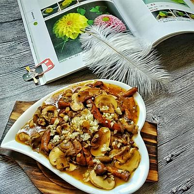 蒜蓉蘑菇烩