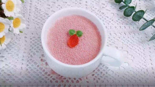QQ糖樱花布丁的做法