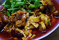 豆皮排骨火锅烧 的做法