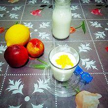#德运甜品#      水果酸奶