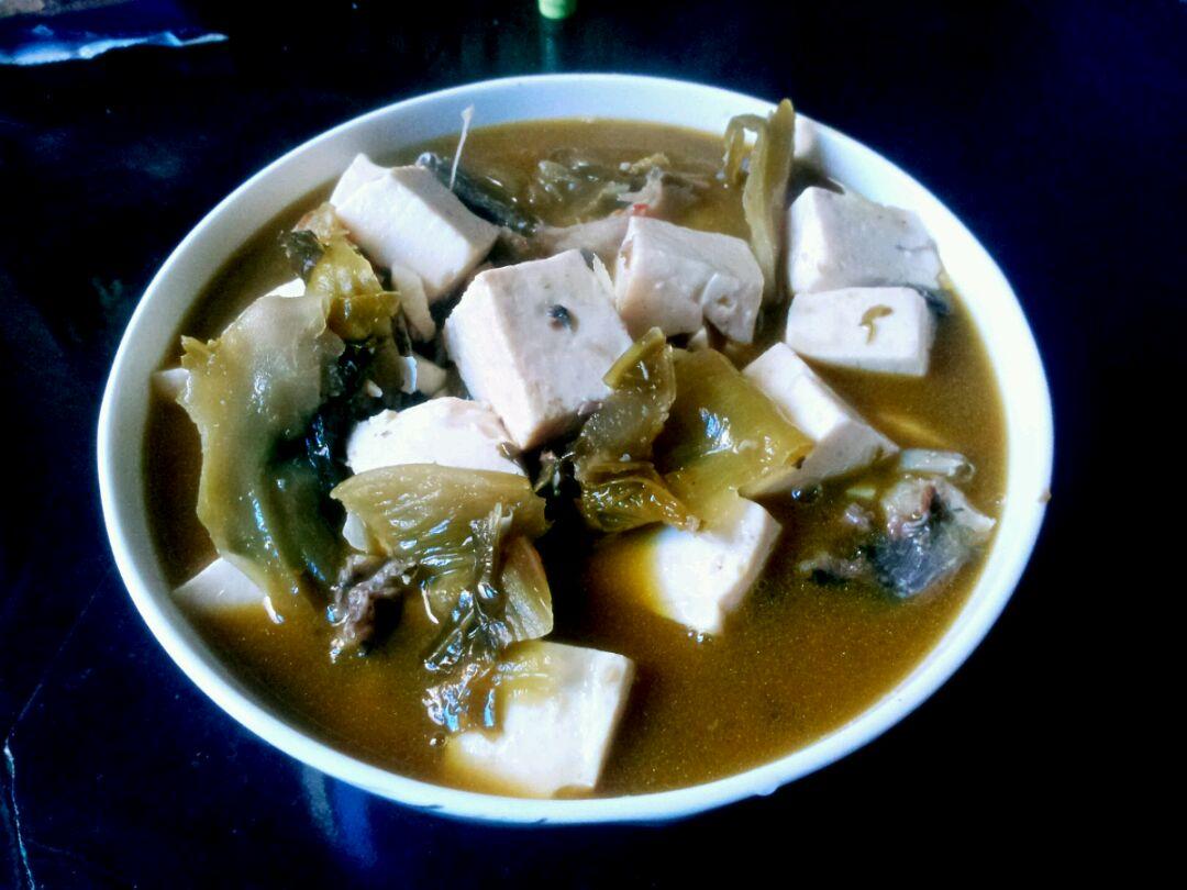 酸菜鱼豆腐的做法步骤