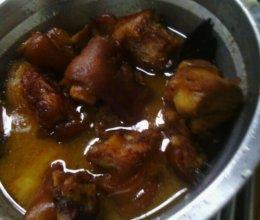高压锅卤猪蹄的做法