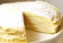 香草原味千层蛋糕/千层可丽饼的做法