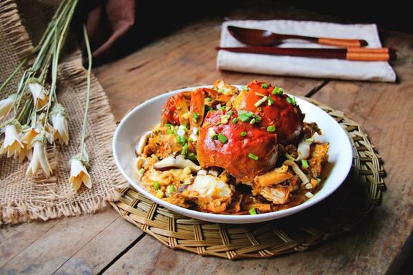 酱油炒蟹的做法