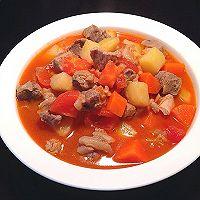 番茄土豆胡萝卜炖牛腩的做法图解10