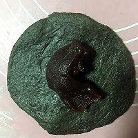 黑芝麻豆沙包的做法图解5