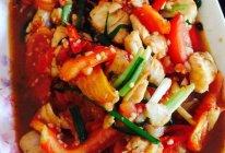 番茄炒鱼腩的做法