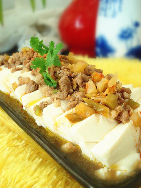 榨菜肉末蒸榨菜乌江做法捞菜排骨煲豆腐图片