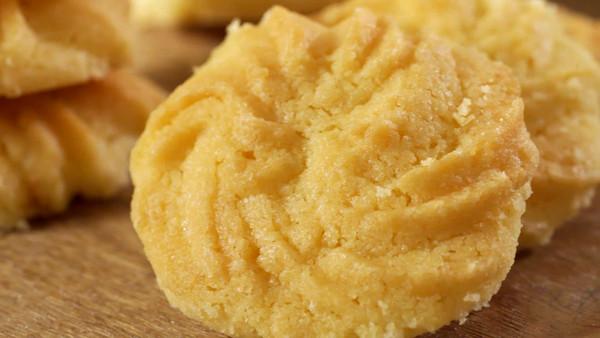 黄油曲奇【孔老师教做菜】的做法