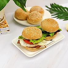#精品菜谱挑战赛#超软低脂的汉堡