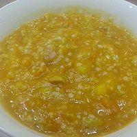 减肥必备 香甜软糯南瓜玉米黄金粥的做法图解3