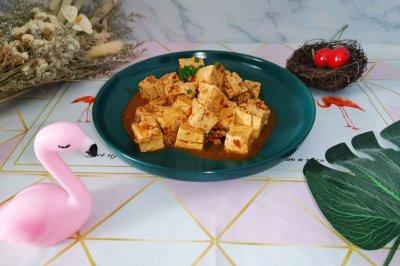 肉沫麻婆豆腐(减脂菜单)