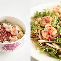 节气美食减肥版 | 小满谦卑,番茄味苦菊拌虾仁,低卡轻食的做法图解5