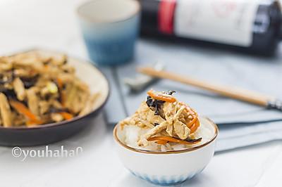 黄豆酱炒鸡丝