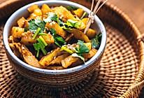 最爱的小吃,狼牙土豆(非油炸烤箱版)的做法