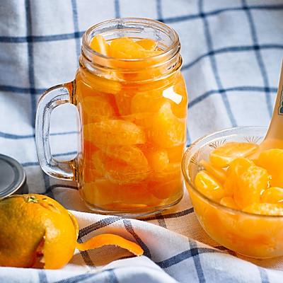 冰糖橘子罐头