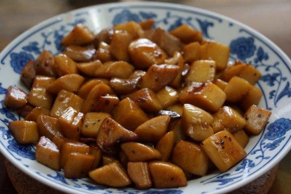 黑椒杏鲍菇的做法