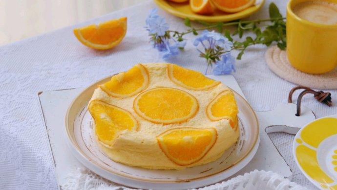 美味颜值双重在线的香橙蒸蛋糕