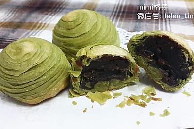 抹茶红豆酥(猪油版)