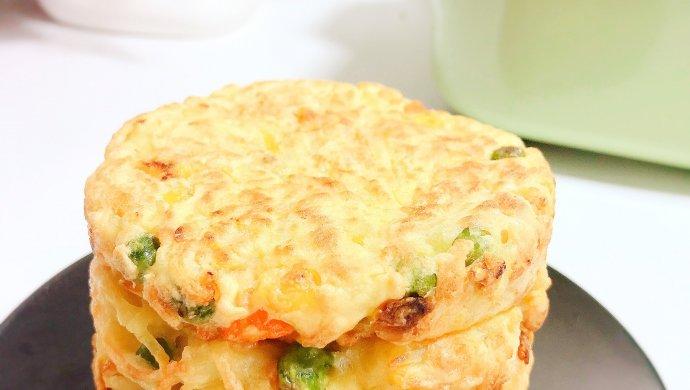 时蔬土豆饼10M+ 快手早餐约一下