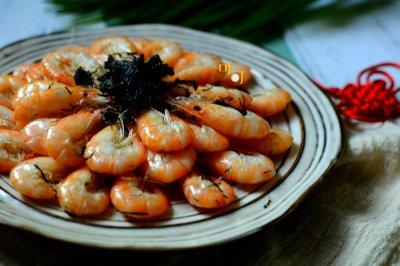 苔菜江白虾