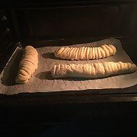 香甜可口的毛毛虫肉松面包#松下面包机#的做法图解14