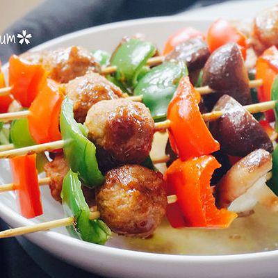 瑞典式肉圆烤串