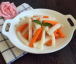 糖醋萝卜条的做法