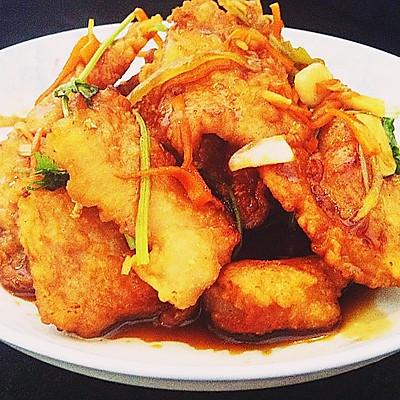 """私房菜~""""锅包肉""""-----这可是有名的东北大菜,硬菜!"""