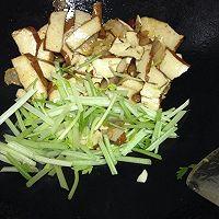 芹菜香干炒腊肉的做法图解8