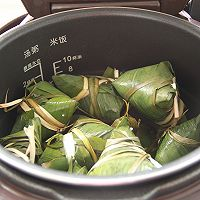 鲜肉鸭蛋黄粽子(内含红豆大枣口味)的做法图解27
