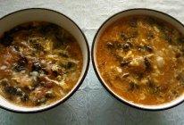 西红柿紫菜鸡蛋面疙瘩汤的做法