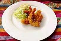 #一人一道拿手菜#黄金燕麦虾的做法