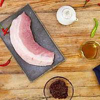 盐煎肉|美食台的做法图解1