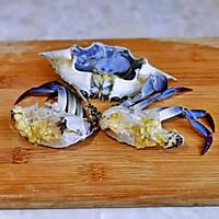 #合理膳食 营养健康进家庭#红烧梭子蟹的做法图解4