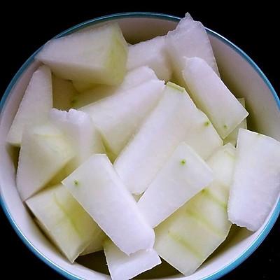 海米冬瓜的做法_【图解】海米冬瓜怎么做好吃_海米