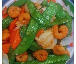 虾仁荷兰豆的做法