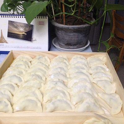 黄瓜鸡蛋虾仁饺子的做法 步骤4