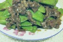 荷兰豆炒牛肉的做法