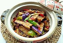 砂锅肉末茄子的做法