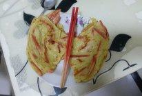 简单的懒人快手早餐午餐~百吃不厌 锅塌子 (西葫芦丝鸡蛋饼)的做法
