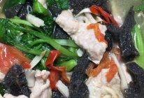 菌菇肉片蔬菜汤的做法