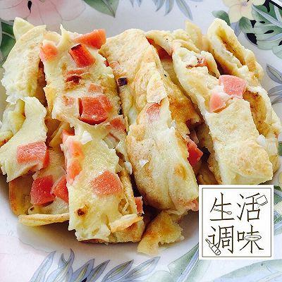 土豆火腿鸡蛋饼