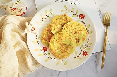 全麦杂蔬小饼·营养超丰富的早餐低卡料理