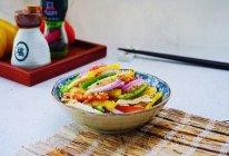 低脂彩椒鸡肉沙拉~中式减脂餐的做法