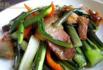 腊肉炒红菜苔的做法