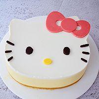 8寸KT猫芒果慕斯蛋糕的做法图解21